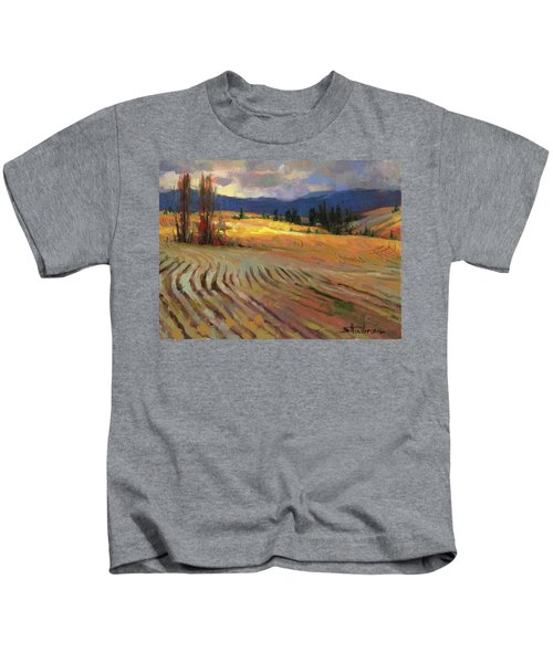Break In The Weather Kids T-Shirt