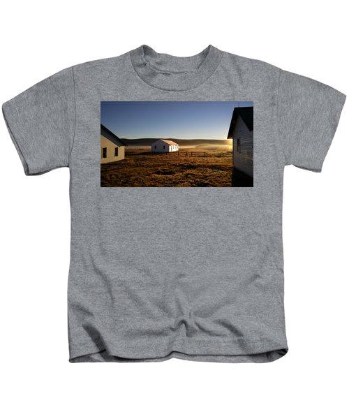 Breakfast In The Air Kids T-Shirt