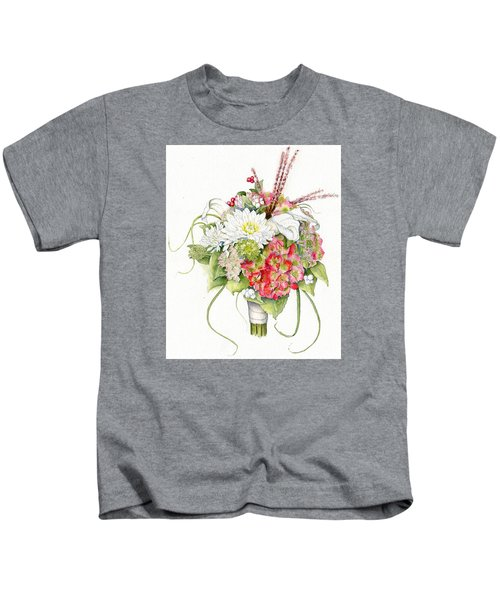 Bridal Bouquet Kids T-Shirt