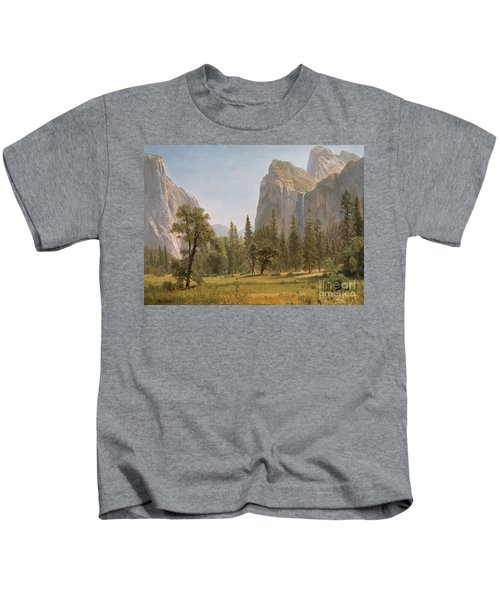 Bridal Veil Falls Yosemite Valley California Kids T-Shirt