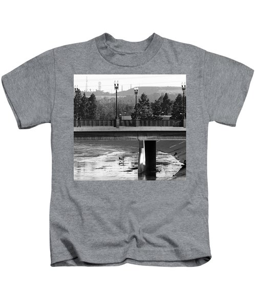 Bridge And Shopping Cart Kids T-Shirt