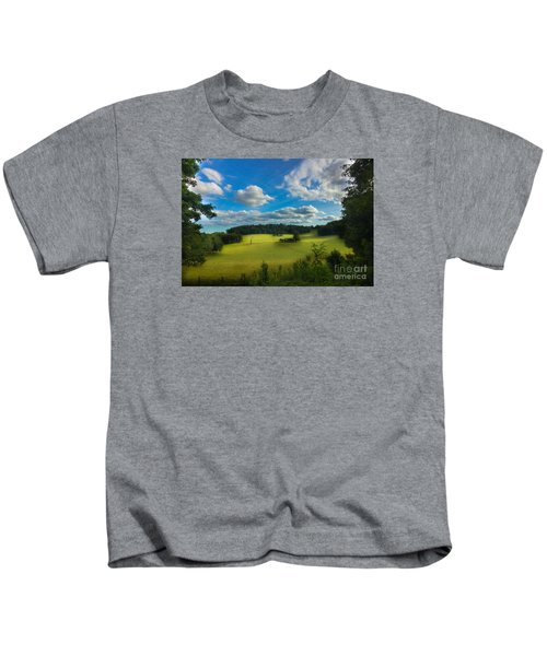 British Countryside Kids T-Shirt