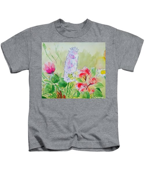 British Wild Flowers Kids T-Shirt