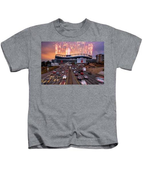 Broncos Win Afc Championship Game 2016 Kids T-Shirt
