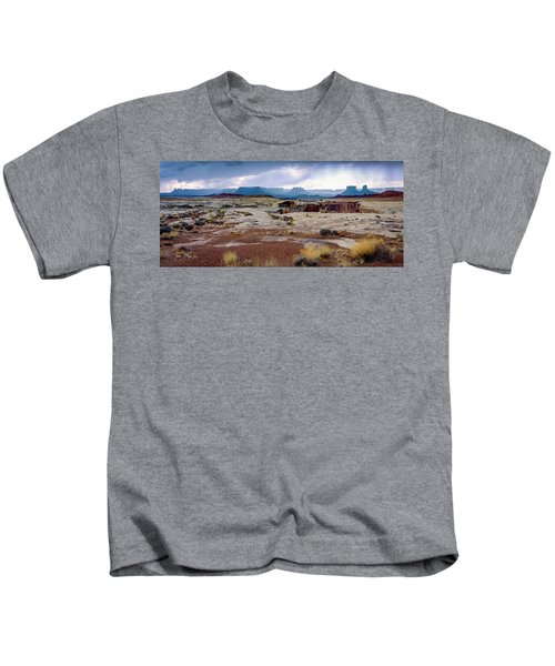 Brooding Sky Summer Storm Kids T-Shirt