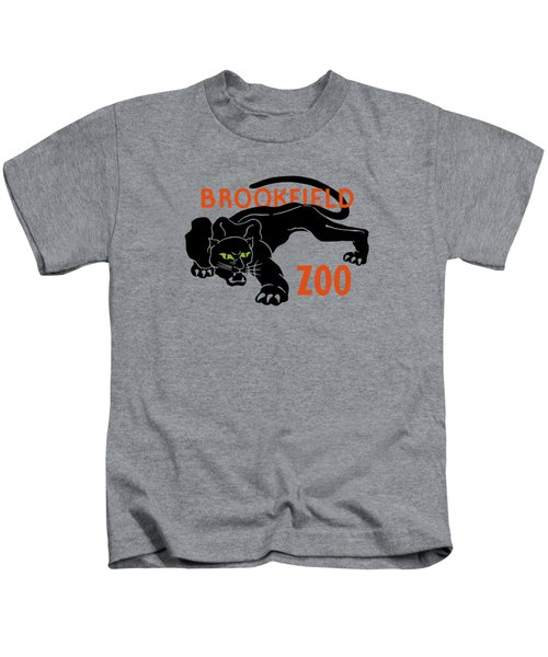 Brookfield Zoo Wpa Kids T-Shirt by War Is Hell Store