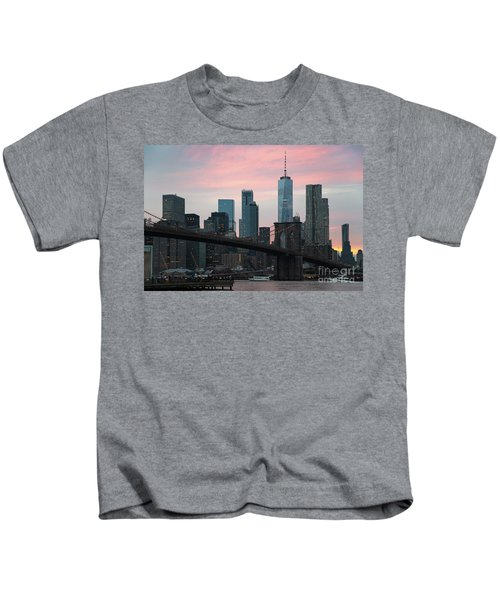 Brooklyn Bridge New York Kids T-Shirt