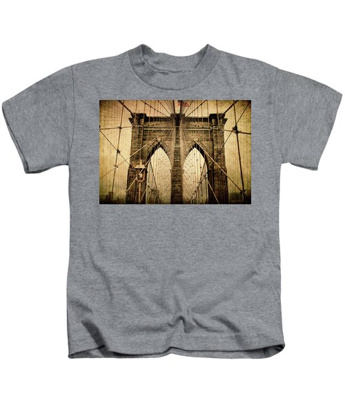 Brooklyn Bridge Nostalgia Kids T-Shirt