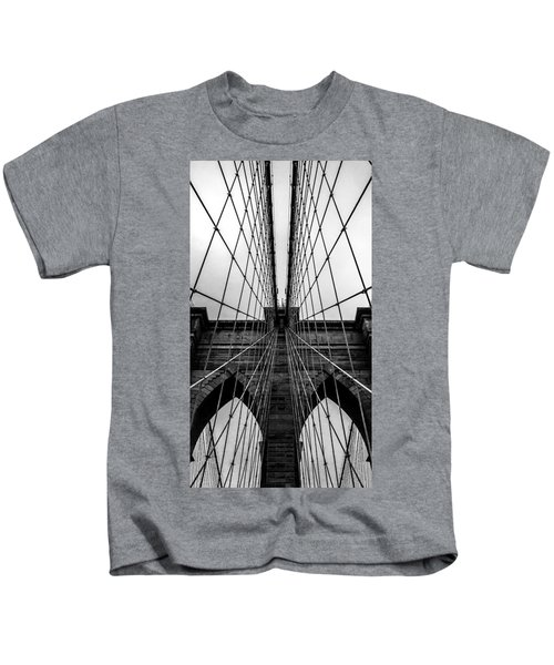 Brooklyn's Web Kids T-Shirt by Az Jackson