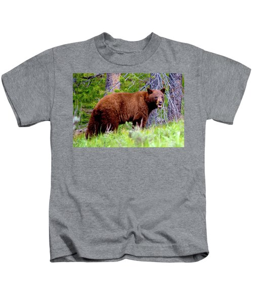 Brown Bear Kids T-Shirt