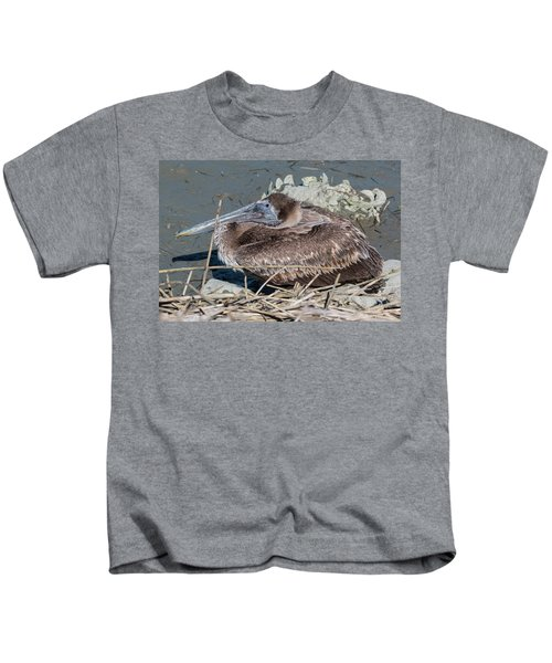 Brown Pelican 3 March 2018 Kids T-Shirt
