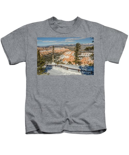 Bryce Amphitheater From Bryce Point Kids T-Shirt