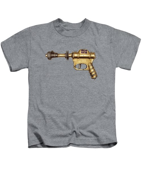 Buck Rogers Ray Gun Kids T-Shirt by YoPedro