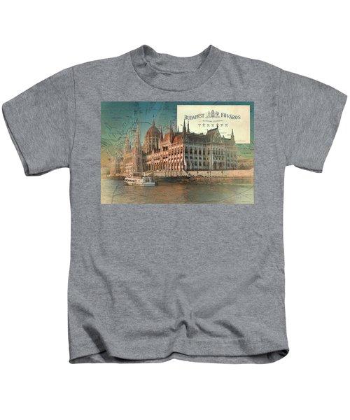 Budapest Fovaros Kids T-Shirt
