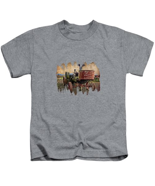 Buffalo Pitts Kids T-Shirt by Thom Zehrfeld