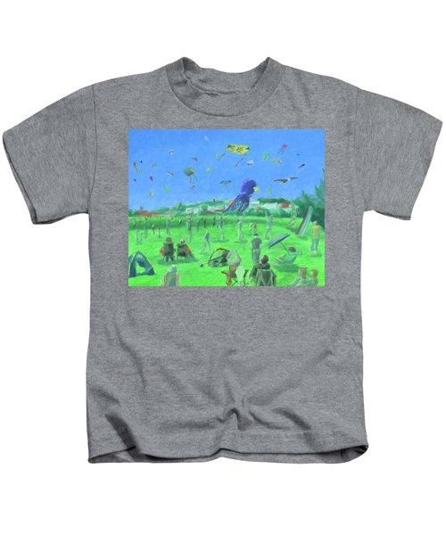 Bug Light Kite Festival Kids T-Shirt