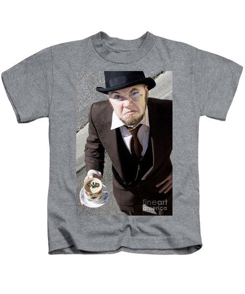Bugged Man Kids T-Shirt