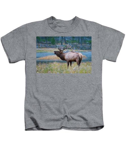 Bull Elk Kids T-Shirt