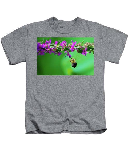 Bumblebee To Nectar Kids T-Shirt