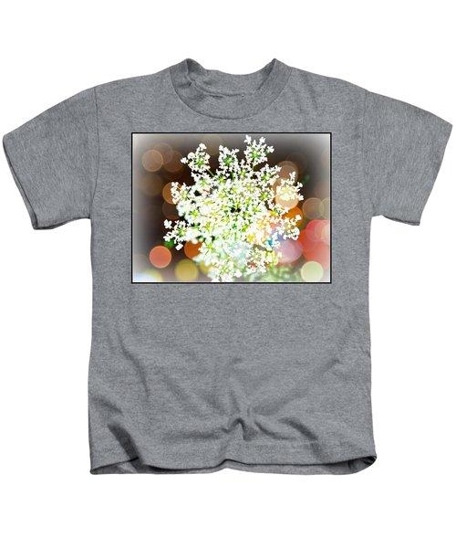 Burst Of Light Kaleidoscope Kids T-Shirt