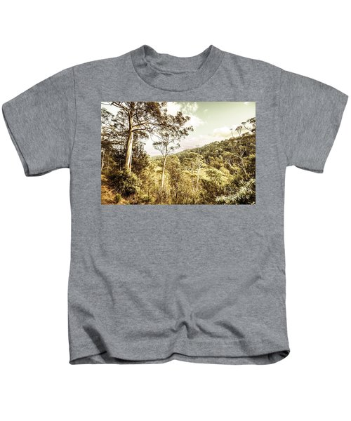 Bush Views And Lookouts Kids T-Shirt