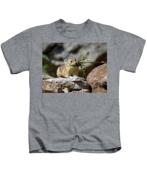 Busy As A Pika Kids T-Shirt