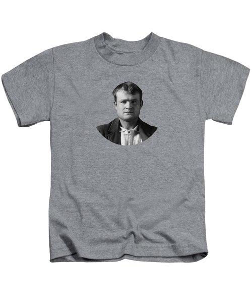 Butch Cassidy Mugshot 1894 Kids T-Shirt