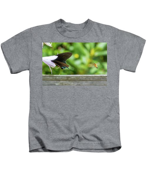 Butterfly And Bee Kids T-Shirt