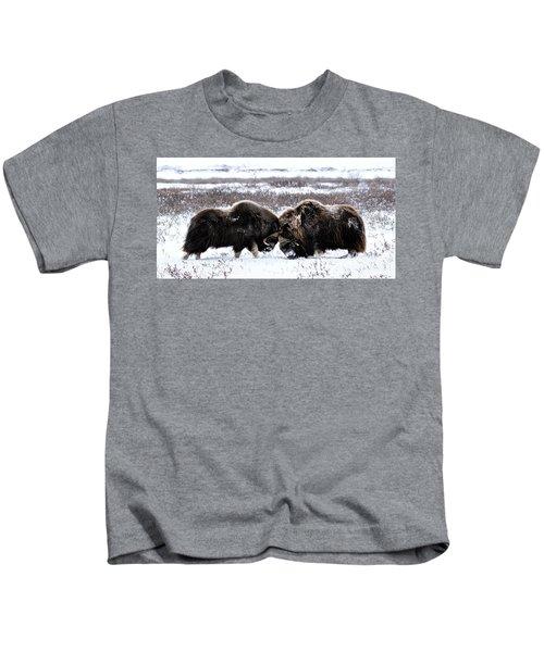 Butting Heads Kids T-Shirt