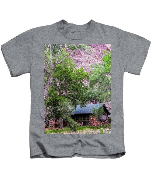 Cabin At Phantom Ranch Kids T-Shirt