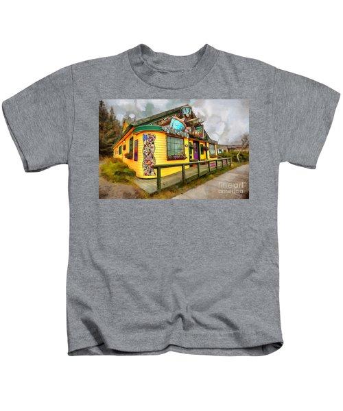 Cafe Cups Kids T-Shirt