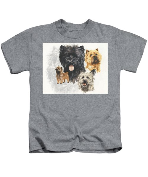 Cairn Terrier Revamp Kids T-Shirt