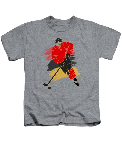 Calgary Flames Player Shirt Kids T-Shirt