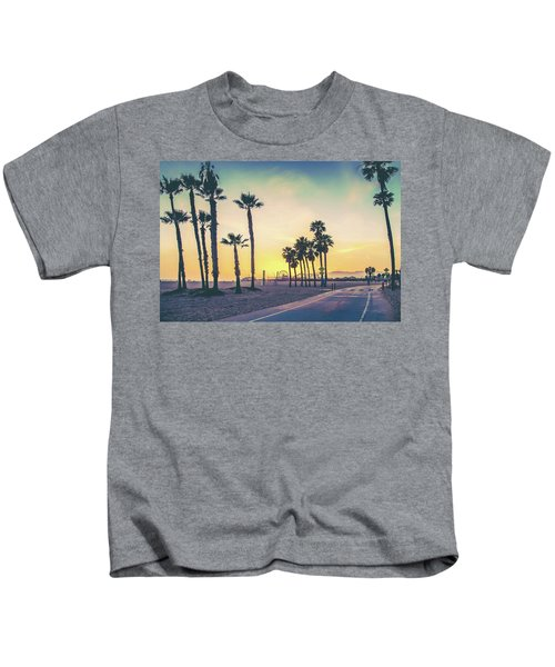 Cali Sunset Kids T-Shirt