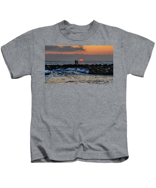 California Evening With Sandstone Effect Kids T-Shirt