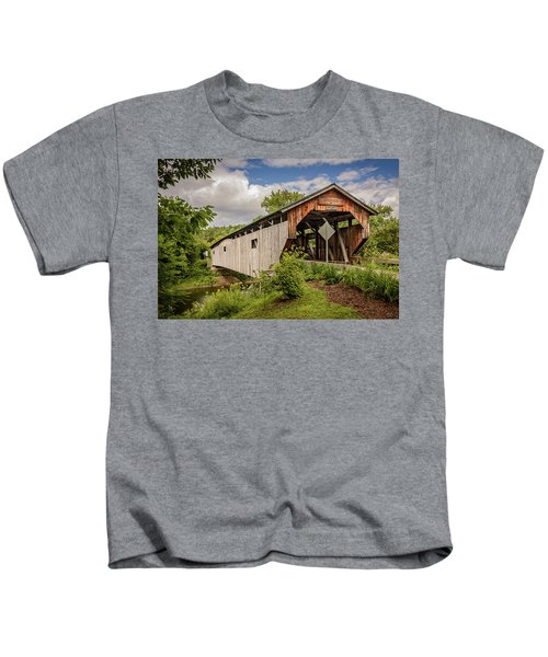 Cambridge Junction Bridge Kids T-Shirt