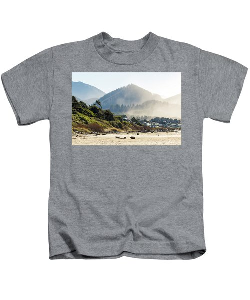 Cannon Beach Oceanfront Vacation Homes Kids T-Shirt