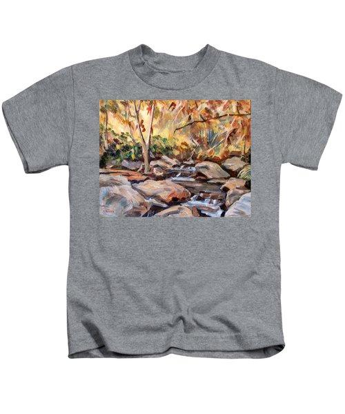 Canyon Shadows Kids T-Shirt