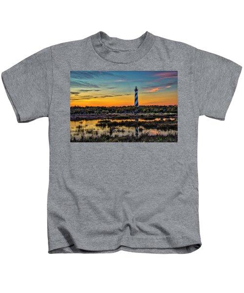 Cape Hatteras Lighthouse Kids T-Shirt