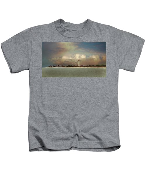 Cape May Lighthouse II Kids T-Shirt