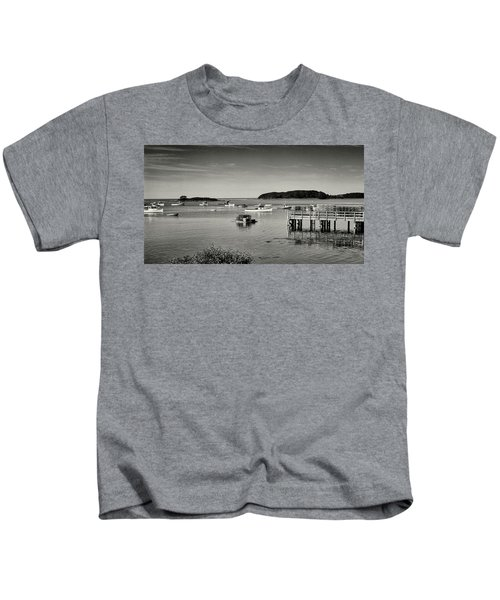 Cape Porpoise Harbor Kids T-Shirt