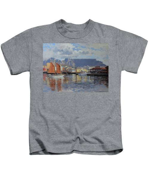 Cape Town Waterfront Kids T-Shirt