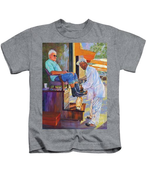 Captain Shoe Shine Kids T-Shirt