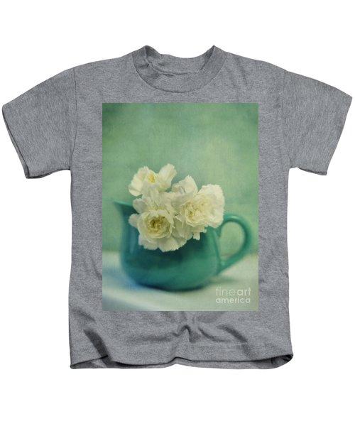Carnations In A Jar Kids T-Shirt
