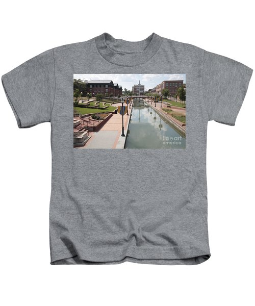Carroll Creek Park In Frederick Maryland Kids T-Shirt