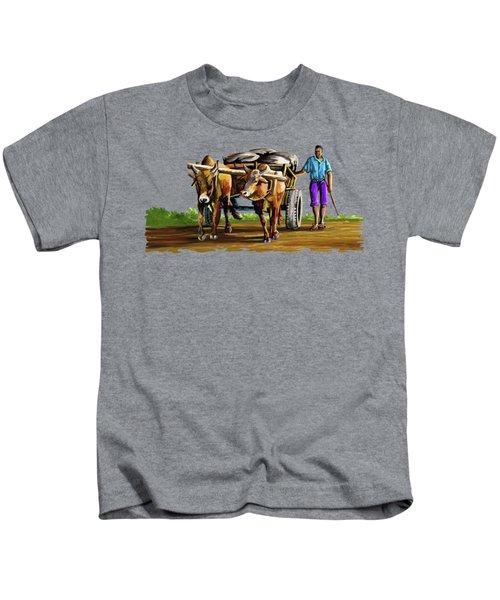 Cart Man Kids T-Shirt