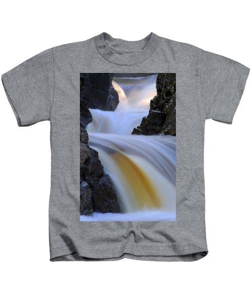 Cascade At Dawn Kids T-Shirt