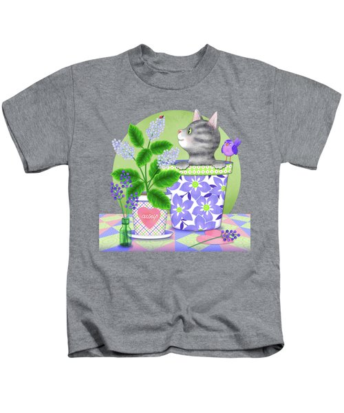Cat Love Kids T-Shirt