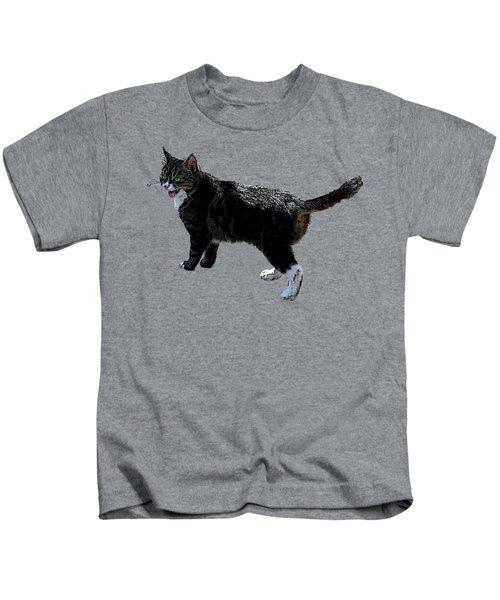 Cat Says Kids T-Shirt