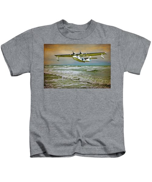 Catalina Flying Boat Kids T-Shirt